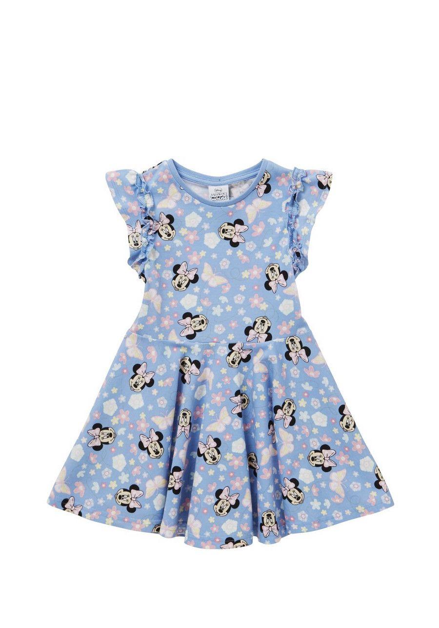 Clothing at Tesco | Disney Minnie Mouse Skater Dress > dresses ...