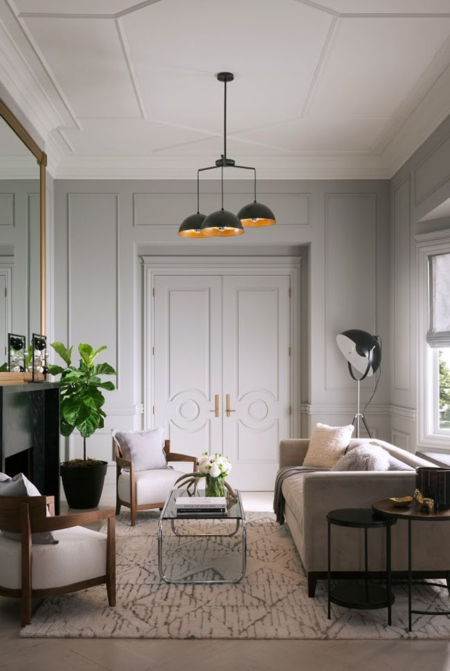 what is your moulding style   hunted interior