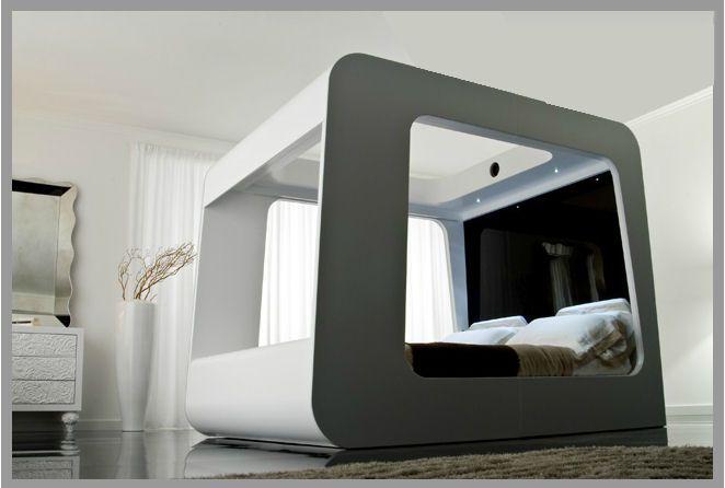 Design Bed Hi Can Technologisch Hoogstandje Voor Wie Houd Van