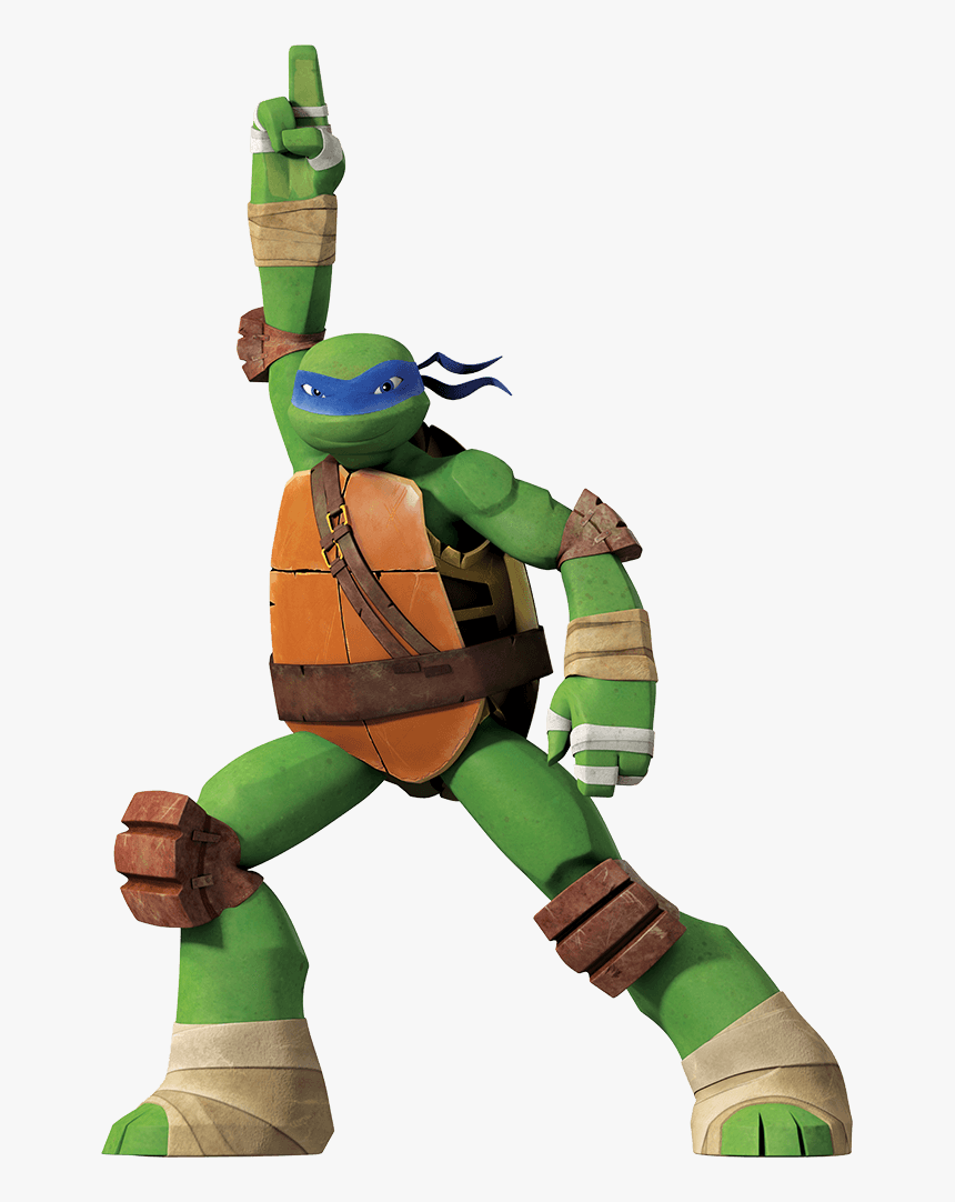 Transparent Tmnt Png Leonardo Ninja Turtles 2012 Png Download