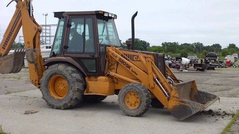 Case 580SK Tractor Backhoe Loader Service Repair Manual