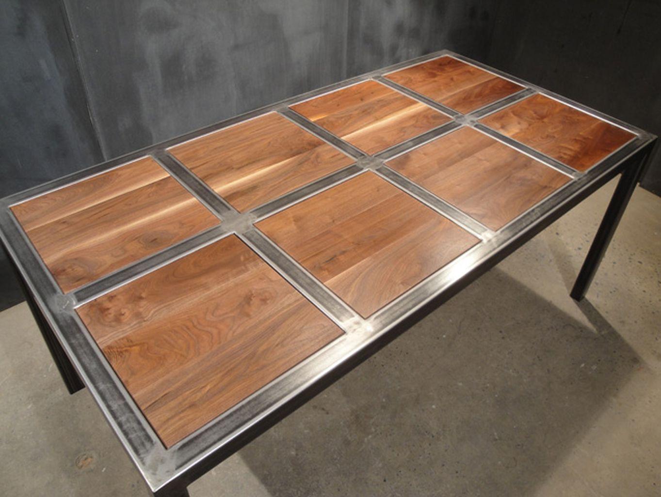 60 vintage wood industrial furniture design ideas for Bett industriedesign
