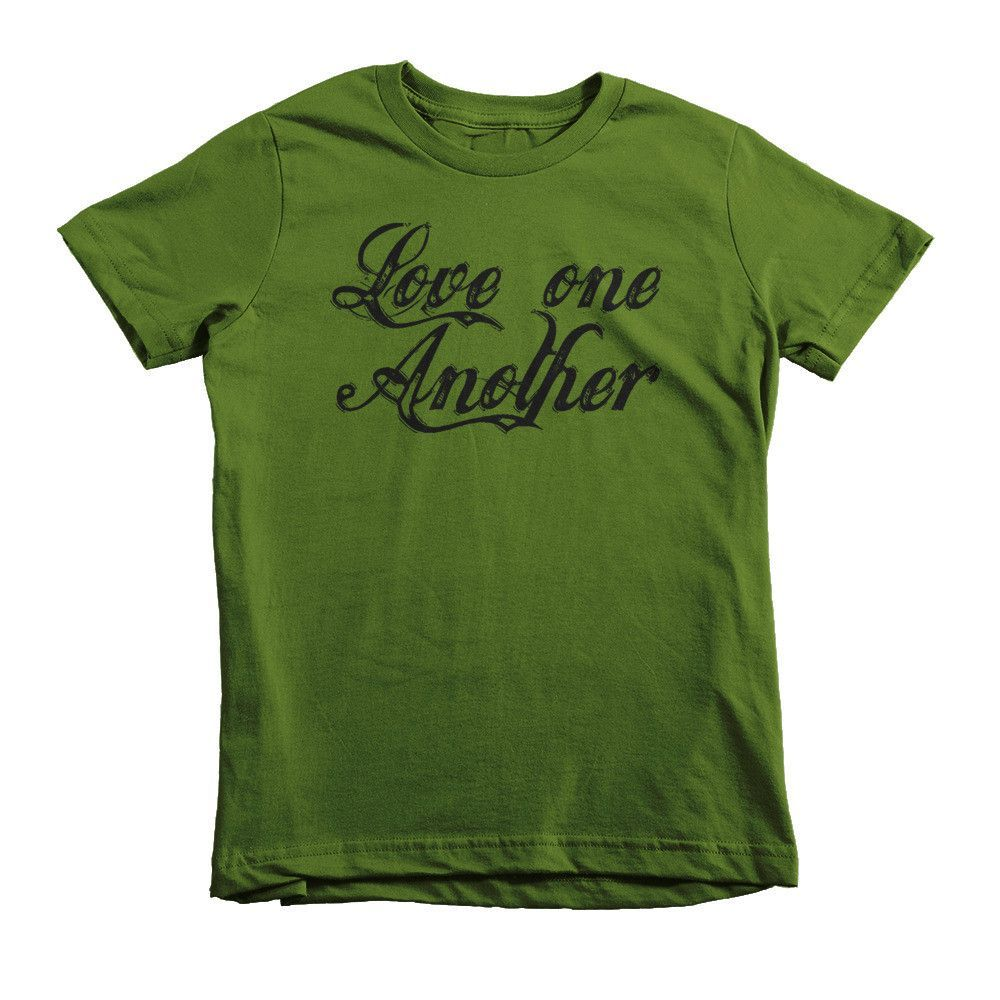 Love One Another Christian Short sleeve kids t-shirt