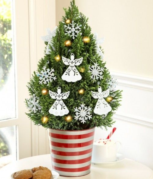 Send A Decorated Mini Christmas Tree