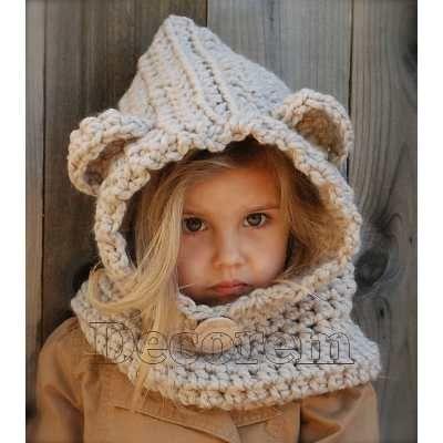 7935d65a2375b Gorros Tejidos A Mano Capucha Crochet De Estambre -   399.00