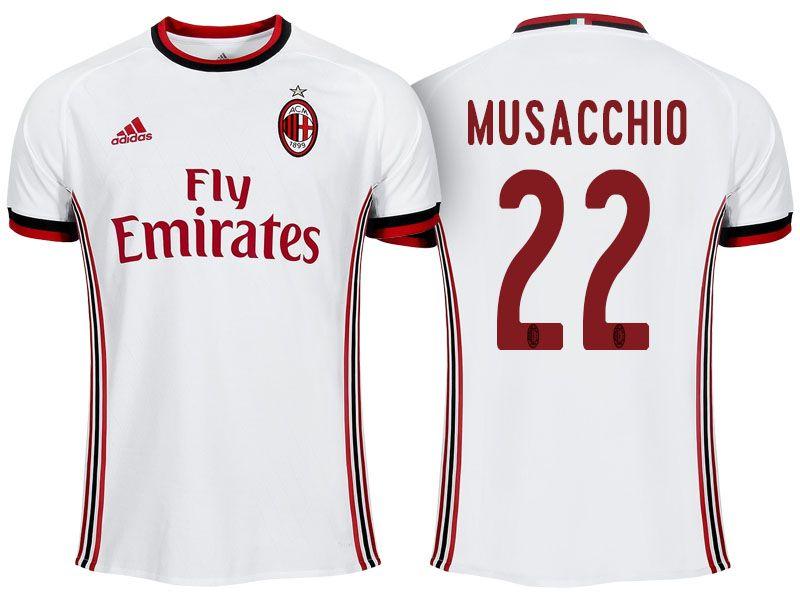 Maillot Extérieur AC Milan MATEO MUSACCHIO