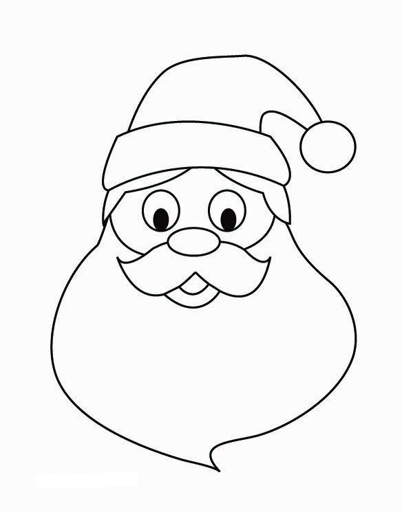 16316 att kerstman gezicht zw 1 jpg 584 215 745 kerstman