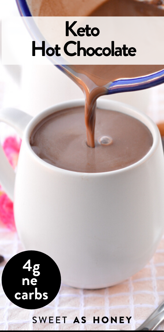 Keto Hot Cocoa With Almond Milk Dairy Free In 2020 Keto Drink Keto Dessert Recipes Low Carb Cocktails