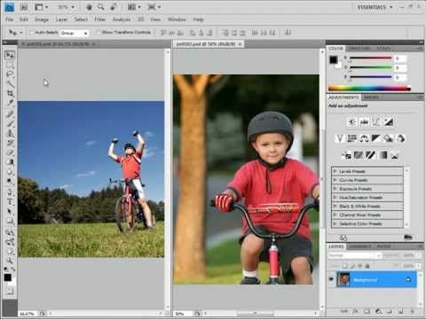 photoshop cs4 tutorial photo editing