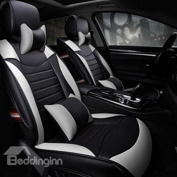 Super High Cost Effective Charming Pu Leatherette Universal Five Car Seat Cover Car Seats Custom Car Seat Covers Leather Car Seat Covers