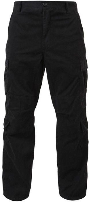 Black Vintage Military Paratrooper BDU Pants  41366522955b