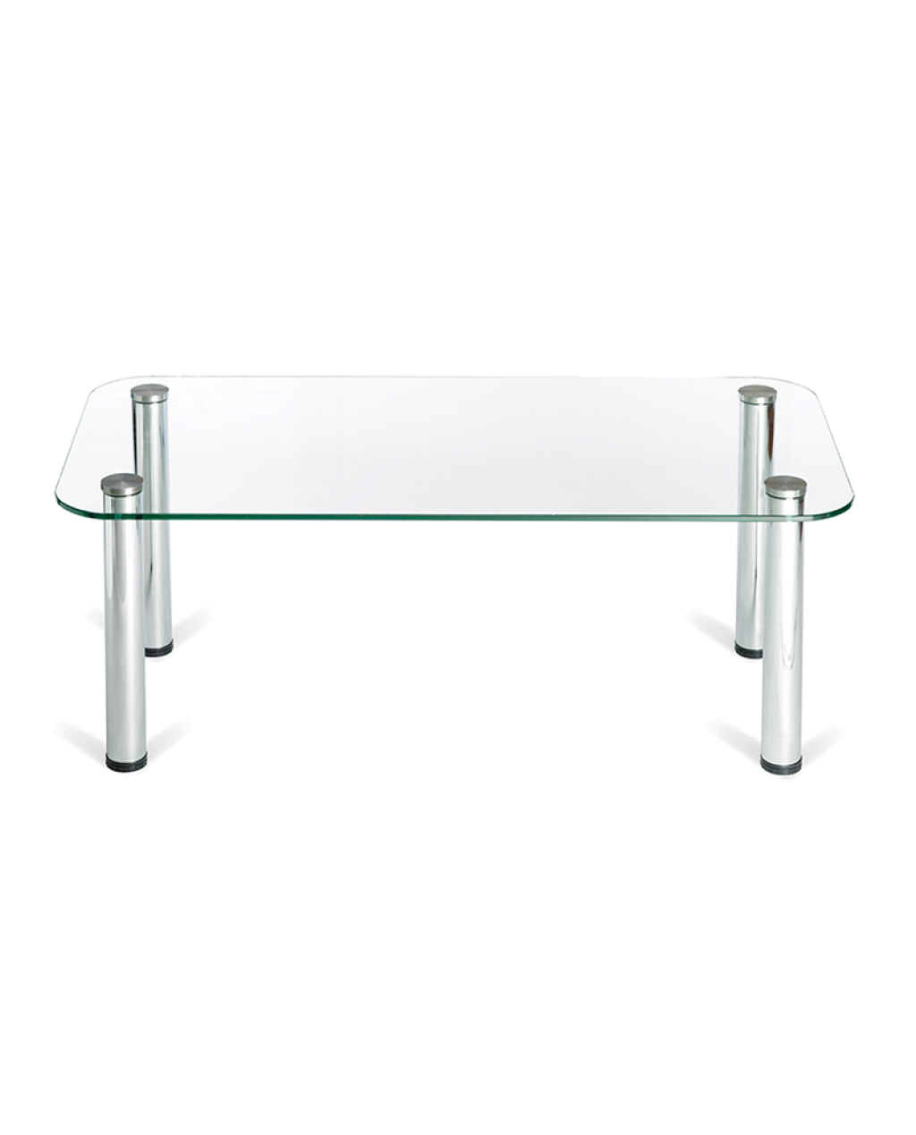 Rectangle Glass Coffee Table With Silver Legs Rectangle Glass Coffee Table Glass Coffee Table Coffee Table [ 1269 x 1024 Pixel ]