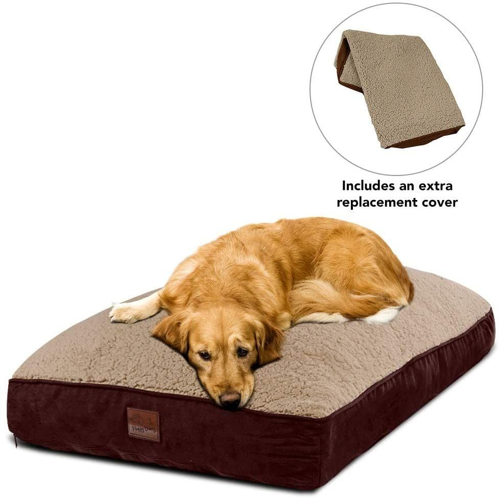 Floppy Dawg Interchangeable 2 In 1 Dog Bed Includes Two Removable Machine Washable Covers And W Dog Bed Dogs Big Dogs