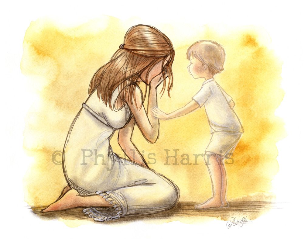 Grieving mother - Inspirational wall art - Loss of a child ...