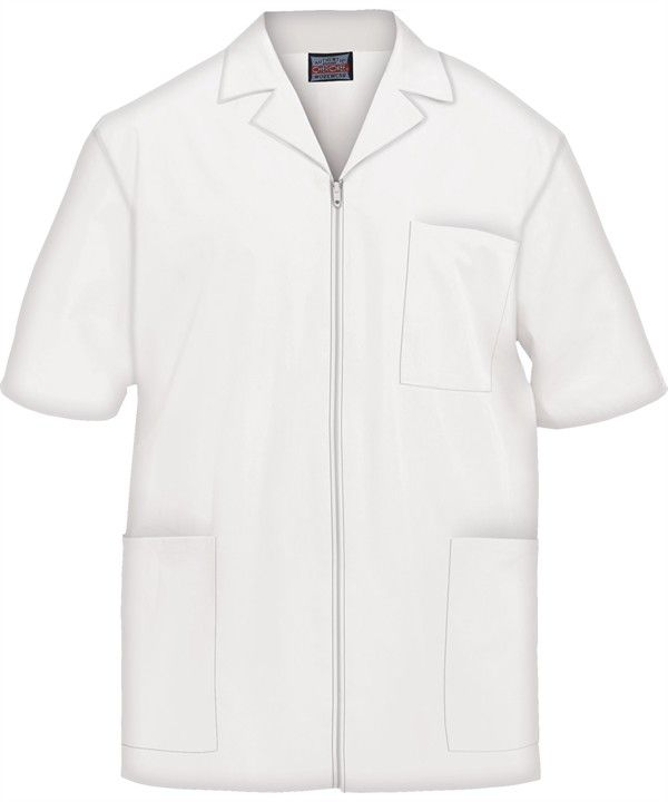 Cherokee Workwear Men's Zip Front Scrub Jacket | Scrub ...