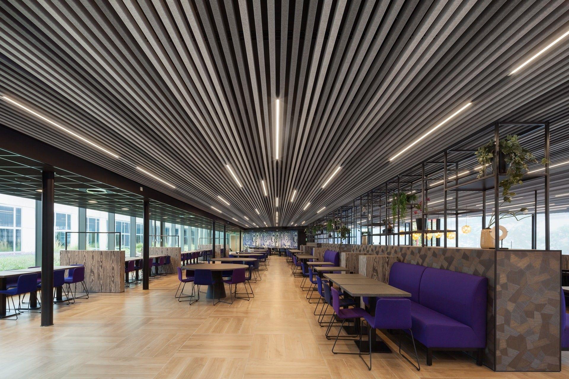 Corridor Tegular Ceiling Tiles Acoustic Ceiling Tiles Ceiling Materials Drop Ceiling Tiles