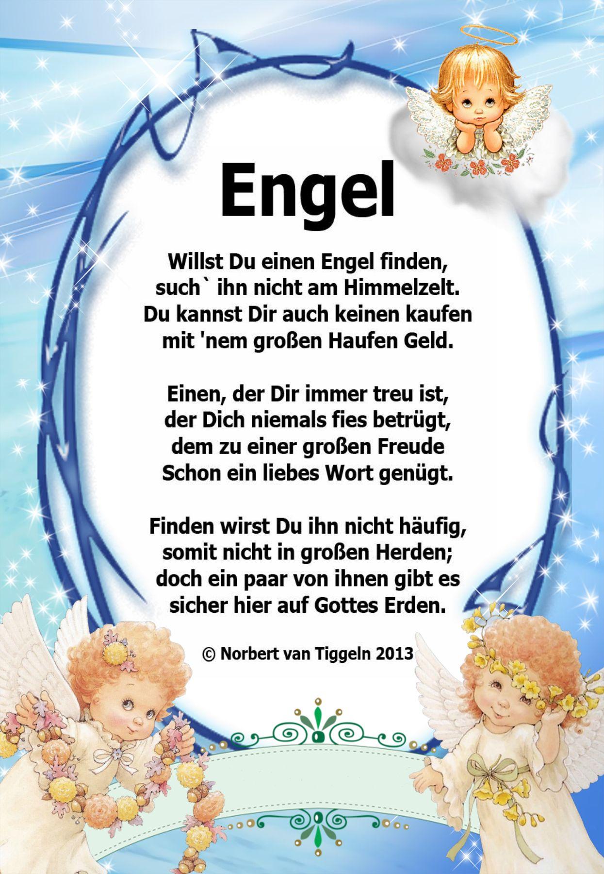 Engel Gedichte Zum Geburtstag Beliebte