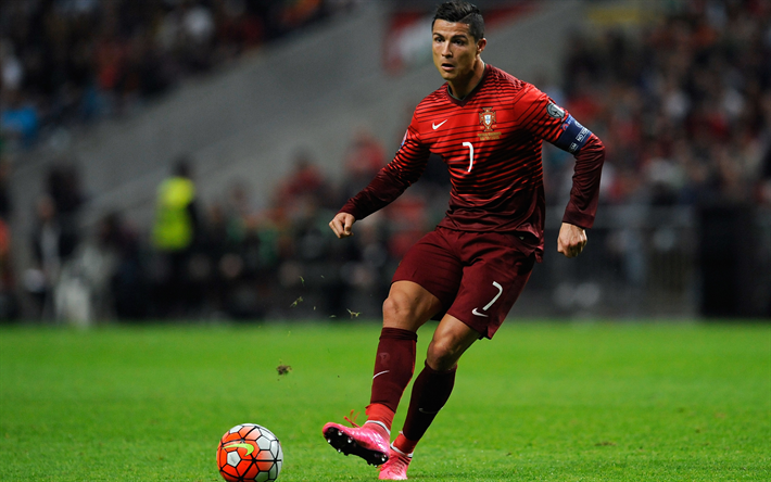 تحميل خلفيات كريستيانو رونالدو 4k لاعب كرة قدم Cr7 كرة القدم