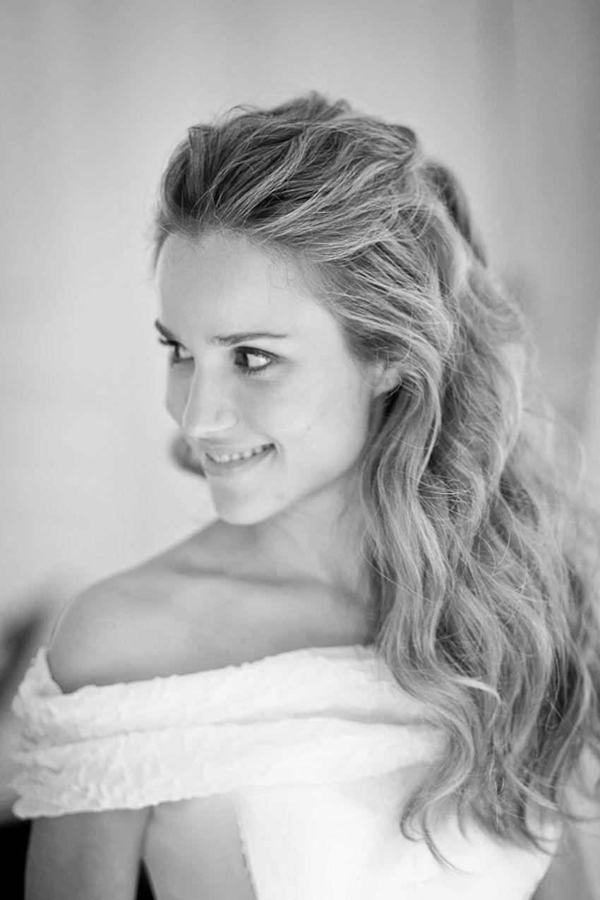 pelo suelto sencillo | MATRIMONIO | Pinterest | Hair style