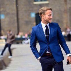 The Syllabus For Class Blue Blazer Outfit Blue Blazer Men Men Style Tips
