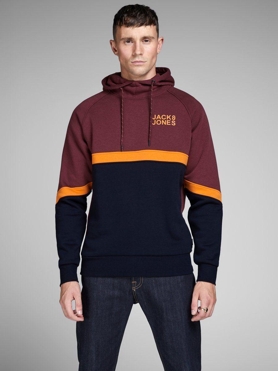 Jack Jones Colour Block Sweatshirt Mens Sweatshirts Hoodie Sweatshirts Color Block Sweatshirt [ 1200 x 900 Pixel ]