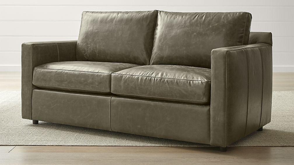 Barrett Leather Track Arm Apartment Sofa In 2019 Sofa Leather