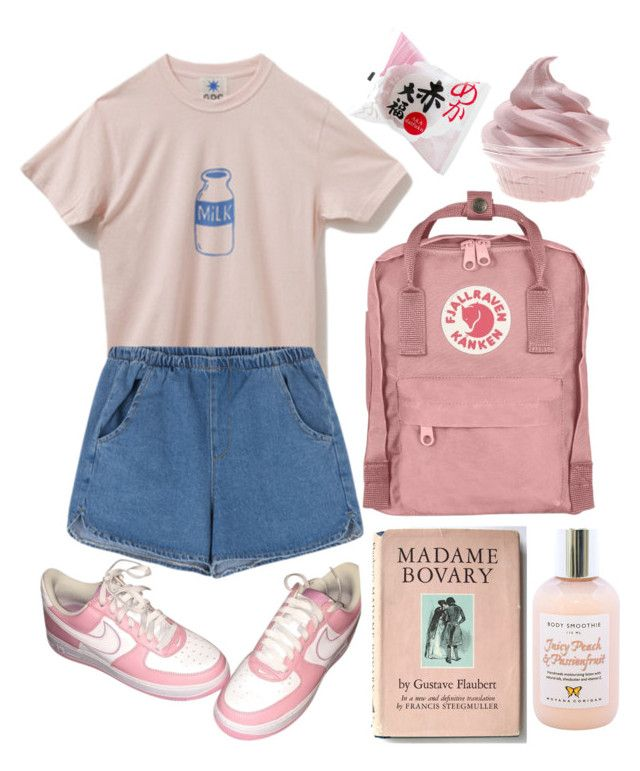 U0026quot;Pink aestheticu0026quot; by wannabea liked on Polyvore featuring NIKE and Moyana Corigan | Aesthetic ...