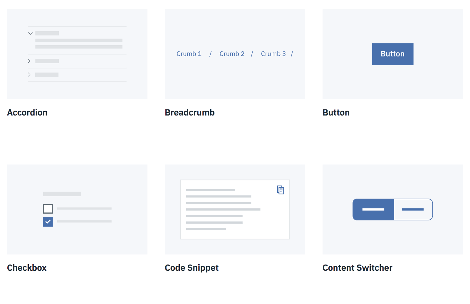 a series of interactive elements including checkbox