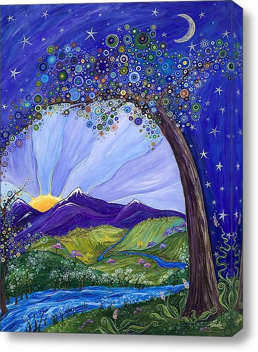 Dreaming Tree Canvas Print / Canvas Art by Tanielle Childers