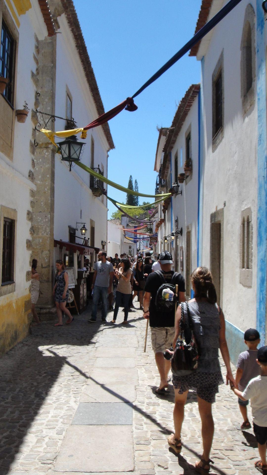 Ruas de Óbidos.
