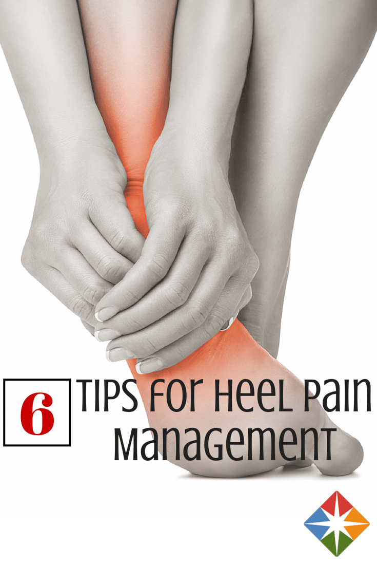Heel pain? Don't worry--these six tips will help you manage it today! You don't have to change your exercise routine too much to get your feet back in tip-top shape.