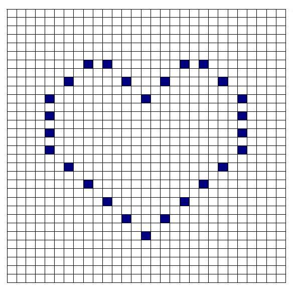 Crochet Bobble Stitch Pattern Heart | BOBBLE PATTERNS | Pinterest ...
