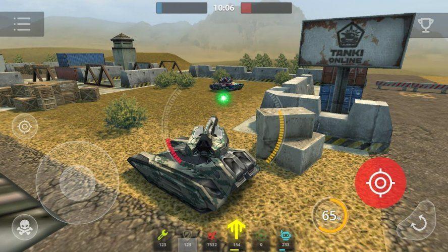 Tanki Online Oyun Oyunlar Tank