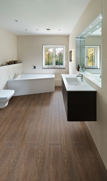 To Feel A Strong Connection To The Outdoors Add Timber Look Tiles To