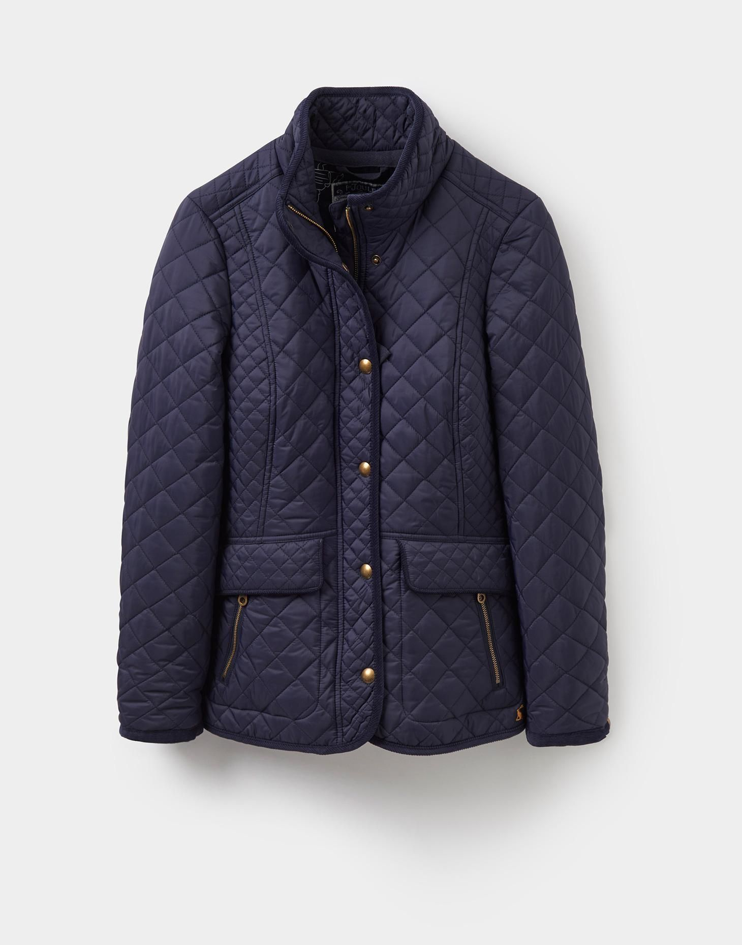 Newdale Marine Navy Quilted Jacket Joules Us My Style