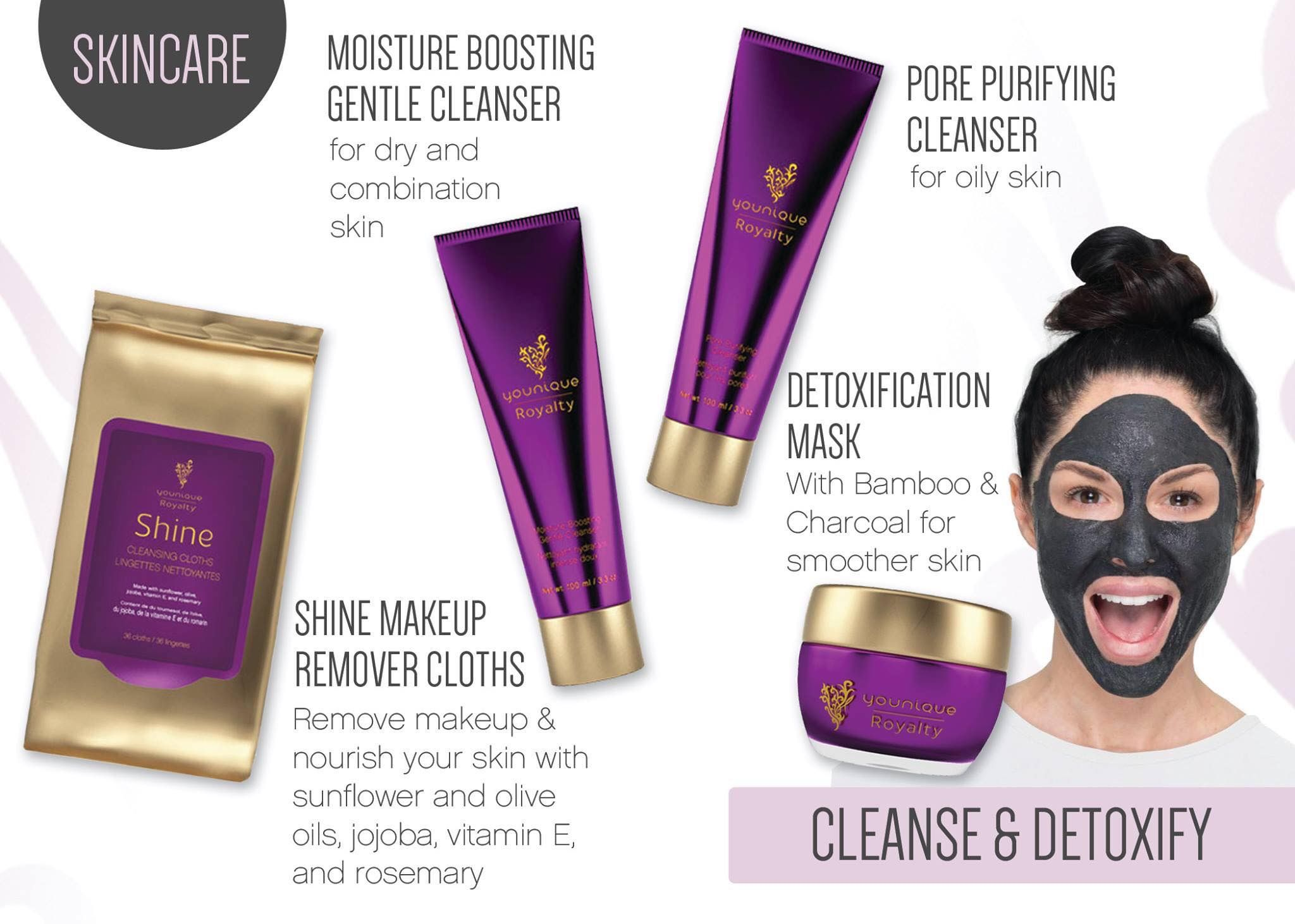 Younique royalty skin care product information, more at