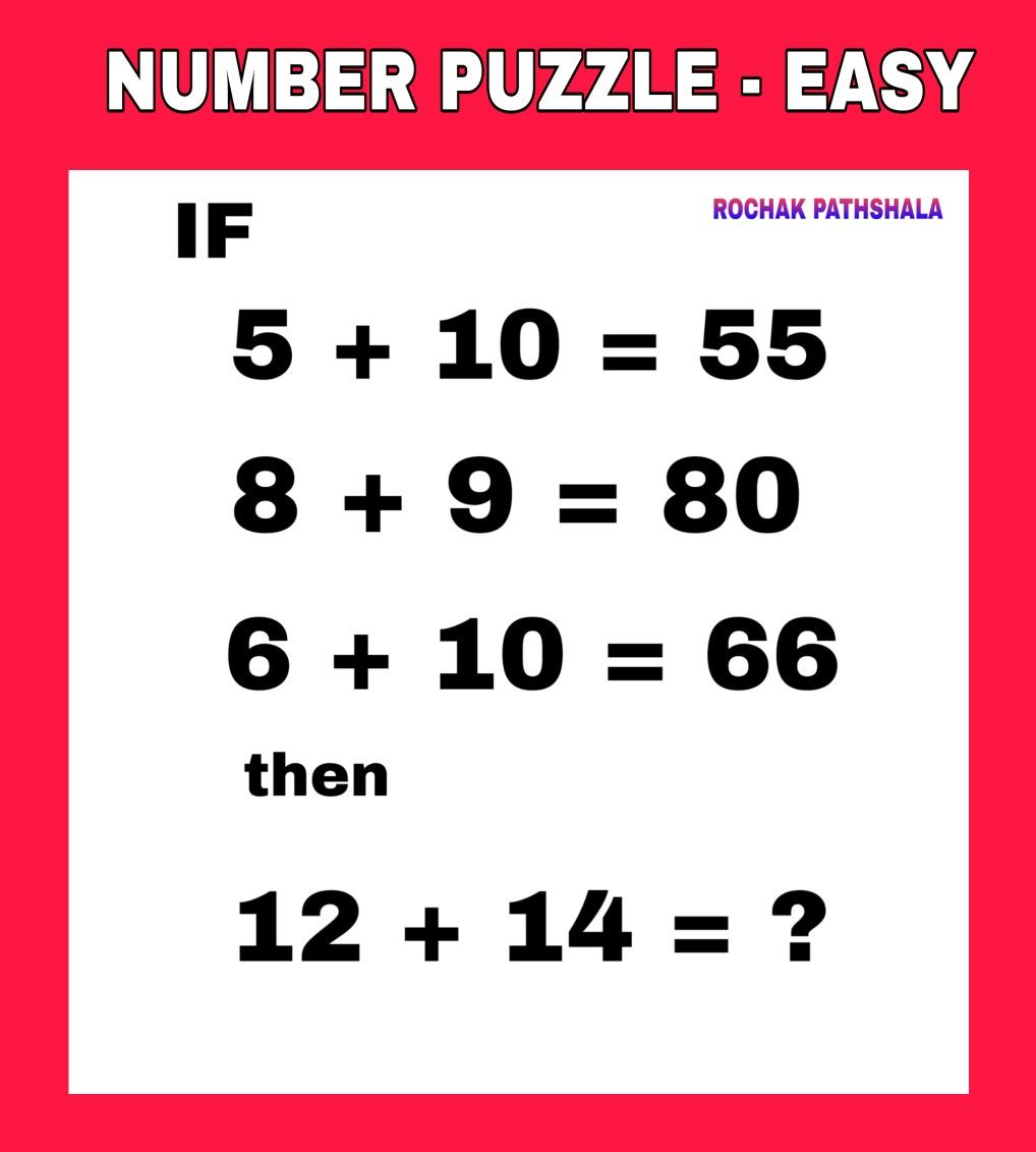 Number Puzzle 1 Number Puzzles Brain Teasers With Answers Teaching Biology