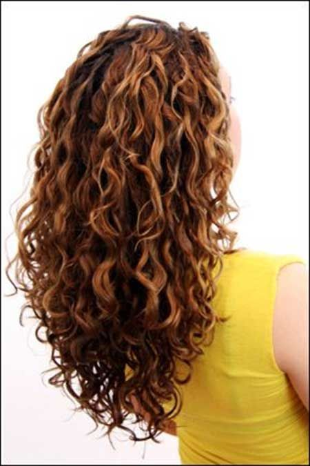 22 Incredibly Pretty Styles For Naturally Curly Hair Long Curly Haircuts Hairstyles For Layered Hair Curly Hair Styles