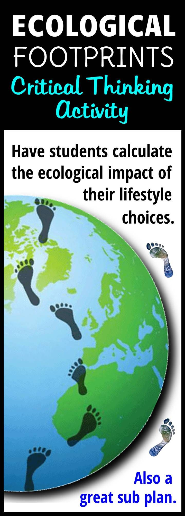 Have Students Calculate Their Ecological Footprints So That They Can See The Impact Their Lifestyle Decis Ecology Ecological Footprint Ap Environmental Science
