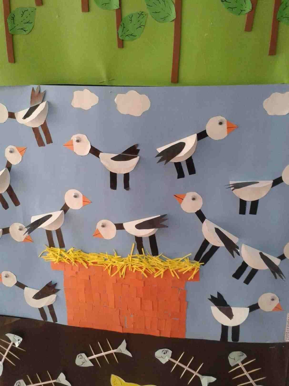 Bird Crafts For Toddlers