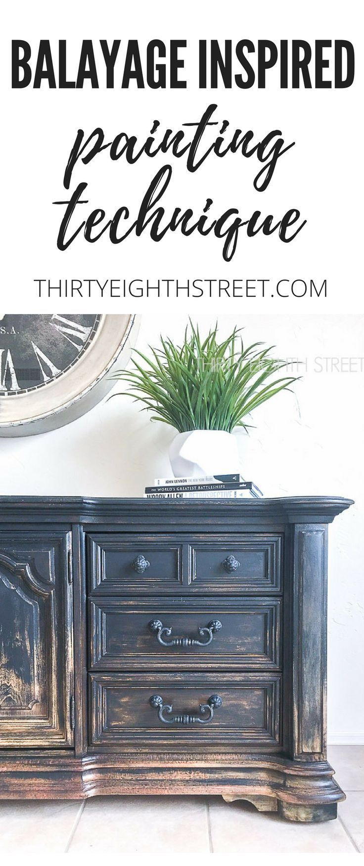 balayage inspired diy painted furniture pinterest furniture