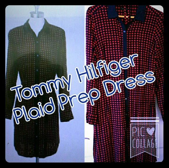 ????TOMMY HILFIGER SHIRT DRESS TOMMY HILFIGER SHIRT DRESS Gently worn, excellent used condition. Tommy Hilfiger Dresses