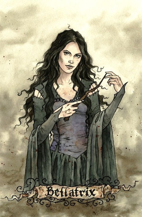 bellatrix lestrange | Hogwarts is my home ϟ | Pinterest ...