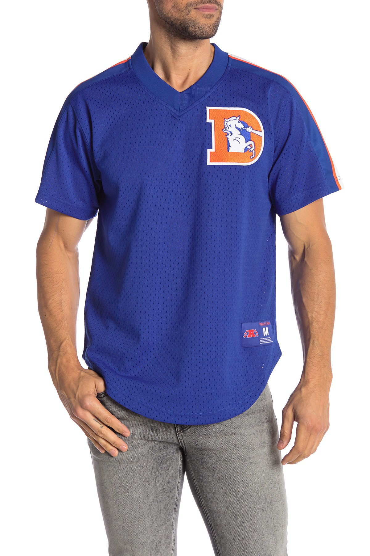 denver broncos womens polo shirt