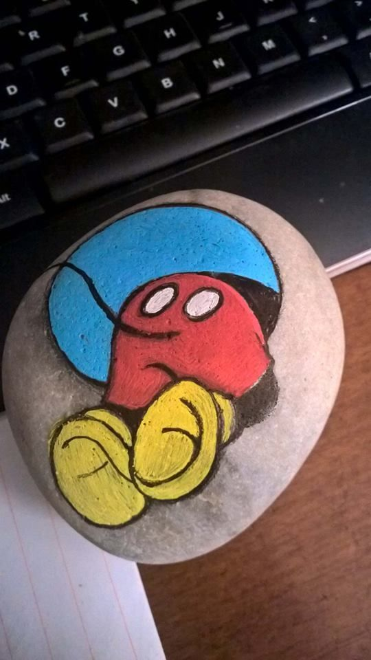 Colorful and Artsy Ideas for Painted Pebble and River Stone Crafts