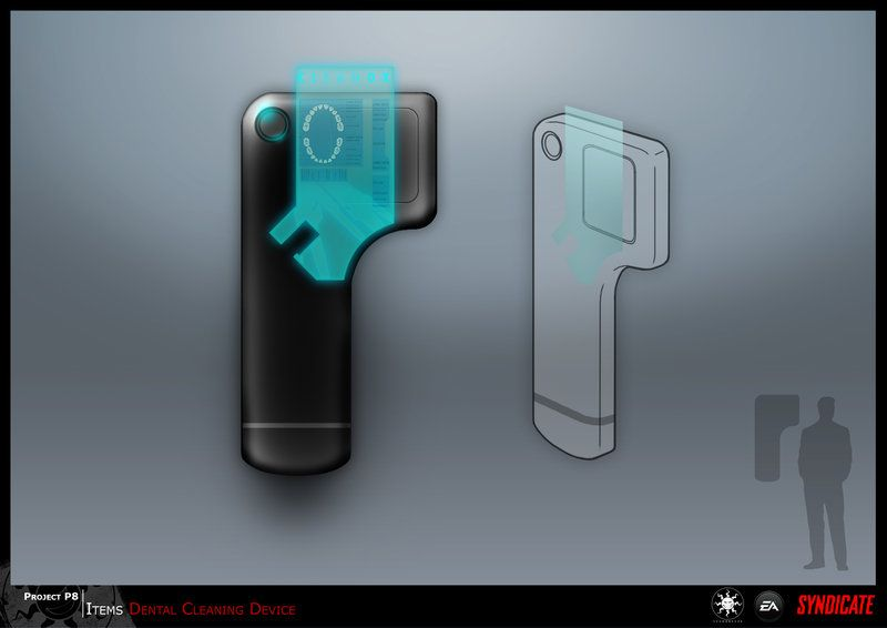 SYNDICATE concept - dental machine by torvenius.deviantart.com on @DeviantArt