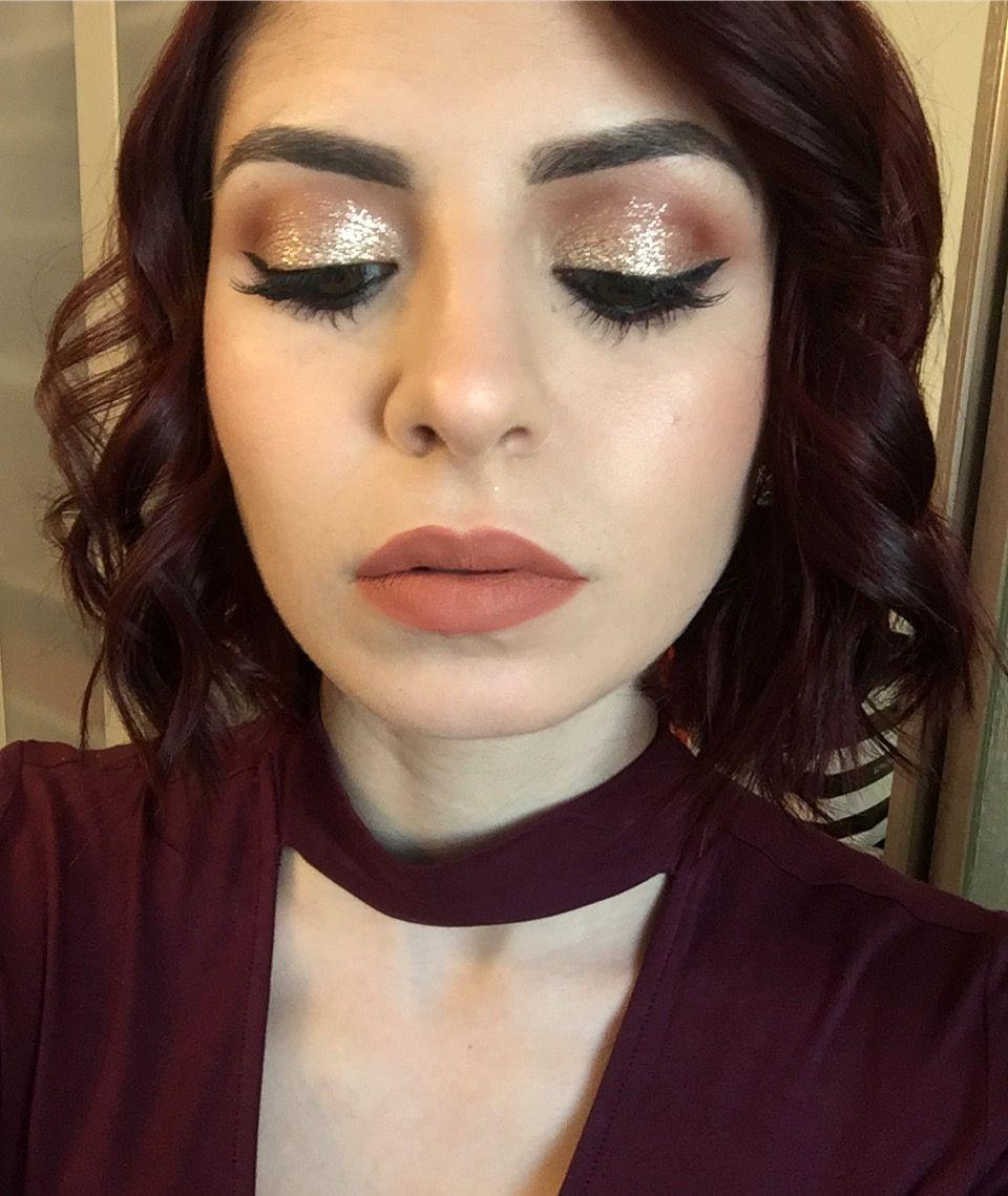 Stila Kitten Karma Liquid Glitters Are Amazing Makeup By Me Www Stephaniedellairabeauty Dramatic Eye Makeup Stila Glitter Eyeshadow Liquid Glitter Eyeshadow