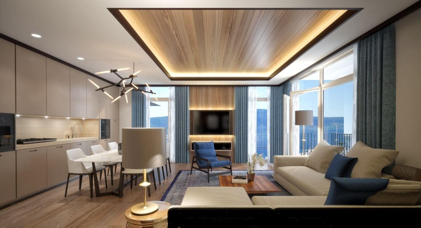 Tivat | luxury apartment next to the Porto Montenegro complex