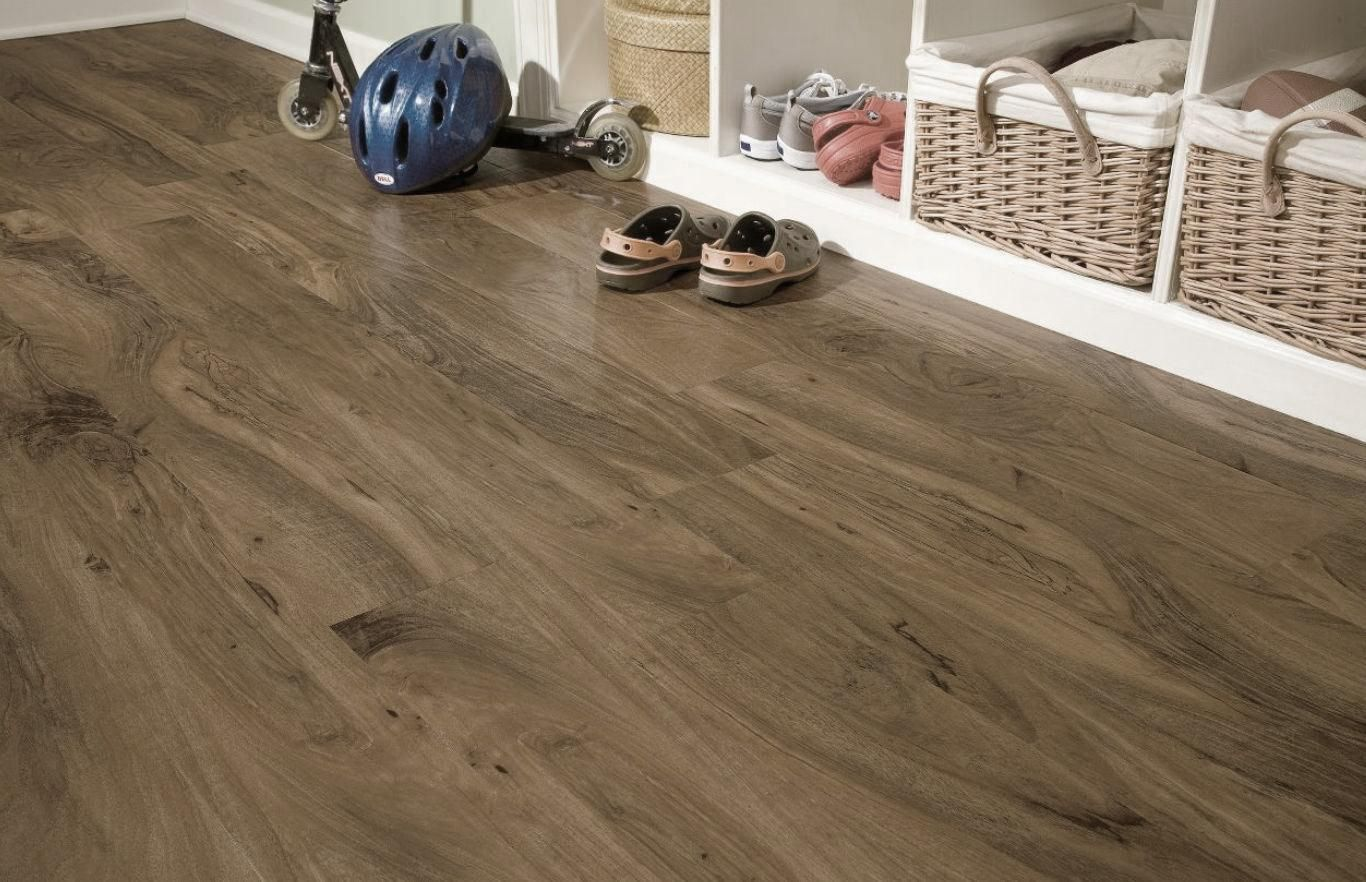 Timeless Designs Pecan 7 Wpc Engineered Vinyl Flooring Luxury