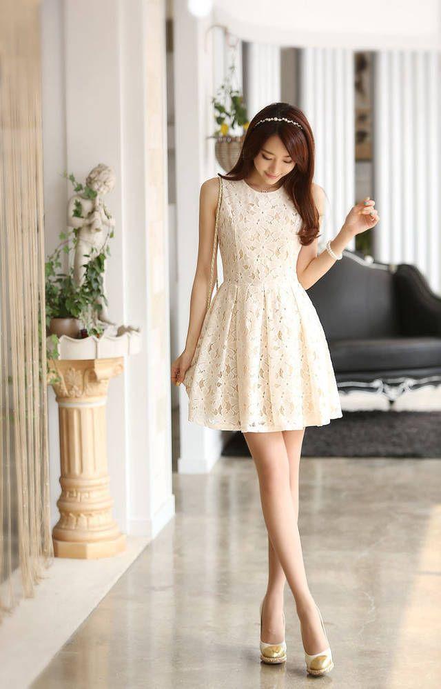 Vestido 2014 Cute Estilo Coreano